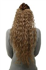 Toupée 7 Clips Strong Curly Honey Blonde H9311-15