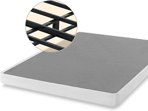 5inch Twin Size Mattress Foundation Smart Box Spring Bed Strong Steel Structure