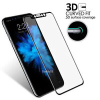 Glass Screen Protector For Apple iPhone X - 100% Genuine Tempered Black