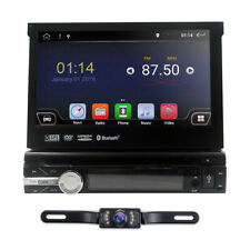 GPS Android 10 Single 1DIN 7 inch Auto Car Stereo Central Multimidia DVD Player