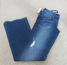 Women's KUT FROM THE KLOTH Natalie High Rise Boot Cut BLUE Jeans Size  8