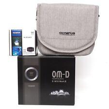 Olympus OM-D E-M10 Mark III Mirrorless Camera with 14-42mm EZ Lens Black 128 GB