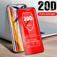 20D Curved Full Cover Tempered Glass Screen Protector Film For iPhone Xr Xs Max