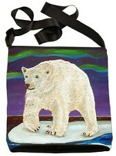 Polar Bear Small Cross Body Bag - Support  Wildlife Conservation, Read How!
