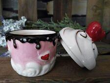 Muffindose Muffin Dose Rosa Rot Schoko Herz Cupcake Cupcakedose Box Clayre