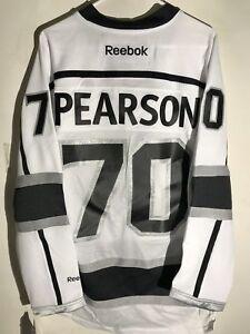 Reebok Premier NHL Jersey Los Angeles Kings Tanner Pearson White sz M