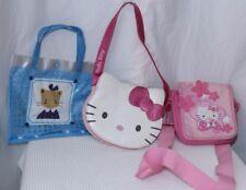 Lot of 3 HELLO KITTY SANRIO child kid purses tote bag
