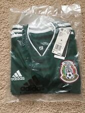 Adidas Men's Mexico Soccer Football Home Green Jersey 2018 size M