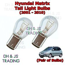 Hyundai Matrix Tail Light Bulbs Pair of Rear Tail Light Bulb Bulbs MPV (01-10)