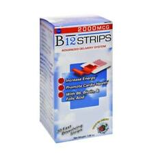 ESSENTIAL SOURCE B12 Strips 2000 mcg with B6 and Biotin. 30 Count