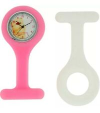 Forever Friends Silicone Nurse's Fob Watch Set Removable Case For Cleaning 74a