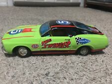 """Vintage TPS Japan Tin """"The Swinger"""" Mach I Mustang Battery Op. Toy Car"""