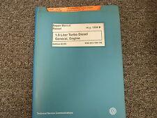 1994 1995 1996 Volkswagen VW Passat 1.9L Diesel Engine Service Repair Manual