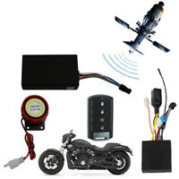 Motorcycle GSM GPS Tracker+1 Way Remote Engine Start Keyless Entry System Alarm