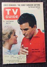 1965 TV GUIDE Magazine #627 VG+ 4.5 Vince Edwards / Ben Casey / Kathy Kersh
