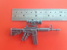 "3.5 inch XM- 177 rifle weapon gun for 10 "" figure 10 inch figure"