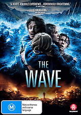 THE WAVE - NORWEGIAN GRIPPING TRUE STORY FEROCIOUS TSUNAMI DISASTER THRILLER DVD