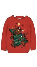Kids  Toddler boys The Gruffalo Christmas Jumper Red, Age 2-3 years