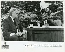 ALF THE ALIEN ED MCMAHON CARNAC THE TONIGHT SHOW ORIGINAL 1990 NBC TV PHOTO