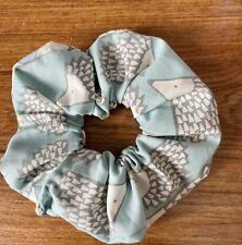 SCION HEDGEHOG Hair Scrunchie Handmade Brand New 🦔🦔