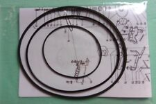 Riemensatz Riemenset f. Philips N4404 N4407 N4408 Tonband Tape Recorder Belt-Kit