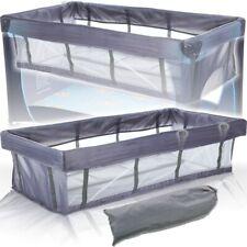 Einhang / Einlage für Reisebett Babybett Kinderbett Reisebetteinhang 120 x 60 cm