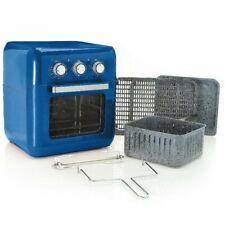 Paula Deen 1650W 10.5qt Multi Function Air Fryer w/ Accessories Blue