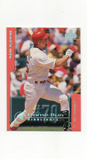 MARK McGWIRE 1999 Upper Deck Home Run Highlights Chase For 70 #70 Ser #438/600