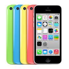 Apple Iphone 5C Mobile Smartphone 8GB 16GB 32GB Sim Free Unlocked Good Condition