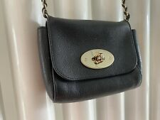 Genuine Mulberry Mini Lily In Black With Dust Bag