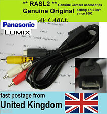 Original Panasonic LUMIX AV cable DMC- FZ38 FT1 FT2 FZ40 FZ45 GF2 GH2 FZ35 ZS3