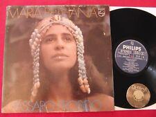 LP MARIA BETHANIA  Passaro Proibido 1976 Brasil | M- to EX
