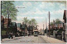 P.C Tram In Burton Road Derby Derbyshire P U 1909
