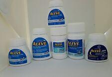 Aleve Tablets, caplets & liquid gels Total 238ct ( Read description b4 buy)