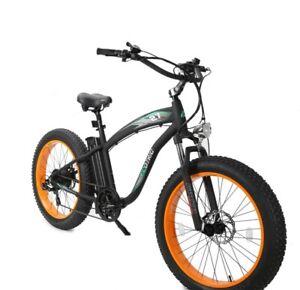 "Ecotric Hammer 26"" Electric Cruiser Bike - FREE SHIPPING"