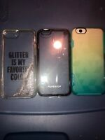 Lot Of 3pc iPhone 6s Kate Spade Case, Puregear Case, Medge Cases