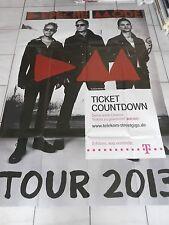 DEPECHE MODE 2013  ++  orig.Werbe Plakat - Promo Poster  168 X 118 cm