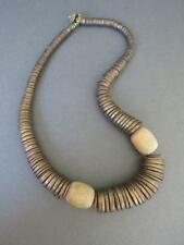 Vintage Danish Monies Gerda Lynggaard Wood Necklace