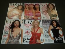 2003 HARPER'S BAZAAR MAGAZINE LOT OF 12 COMPLETE YEAR - FASHION COVERS - O 916