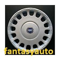 """Fiat Multipla Borchia Coppa Ruota Copricerchio Coppone 15"""" Logo Blu  1259"""