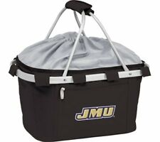 Picnic Time Unisex Metro Basket James Madison University Dukes Emb Black Size