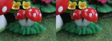 2 Toadstools,  Dolls House Garden Flowers Plants Miniatures