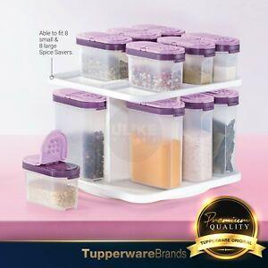 Tupperware Modular Spice Set / Spice Savers / (250ml x8pcs + 110ml x8pcs & Tray)