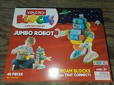 "Velcro Blocks Construction Set Robot 6""Wx5-1/10""Lx8-9/10""H Multi 70189"