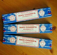 SATYA SAI BABA  INCENSE STICKS 45 GRAM PACKS FREE SHIP NAG champa