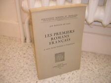 1976.premiers romans français.Raynaud de Lage moyen age