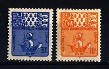 ST. PIERRE AND MIQUELON - 1947 - Segnatasse