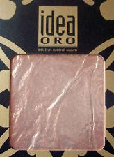 15 Feuilles imitation cuivre 14x14cm Idea Oro (Maimeri)
