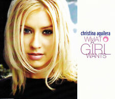CHRISTINA AGUILERA - WHAT A GIRL WANTS CD SINGLE PROMO 1 TRACK 1999 EXCELLENT