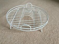 Dish Drainer Rack Plate Kitchen Cutlery Metal Circle Anti Rust and Round